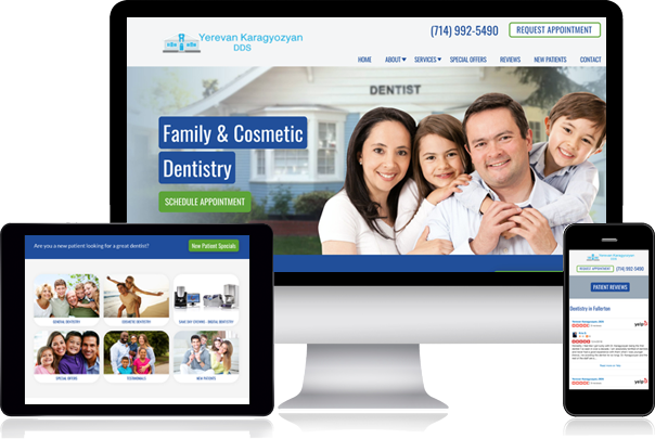 mobile friendly doctor websites