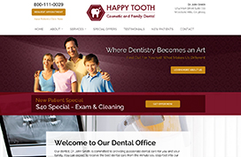 Website Templates For Dentists And Doctors Dental Template Websites
