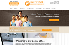 Dental Website Template