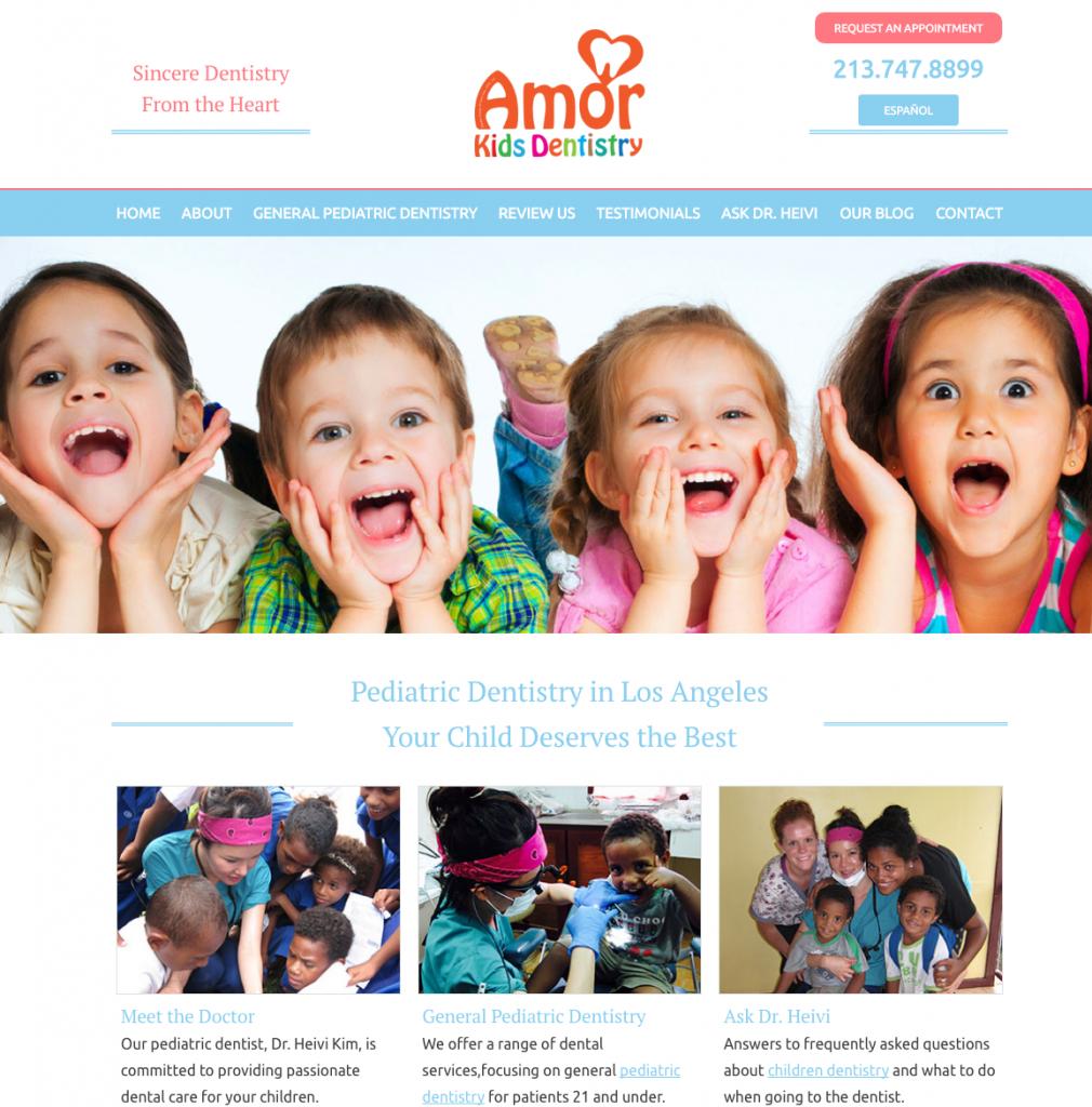best dental website for pediatric dentists