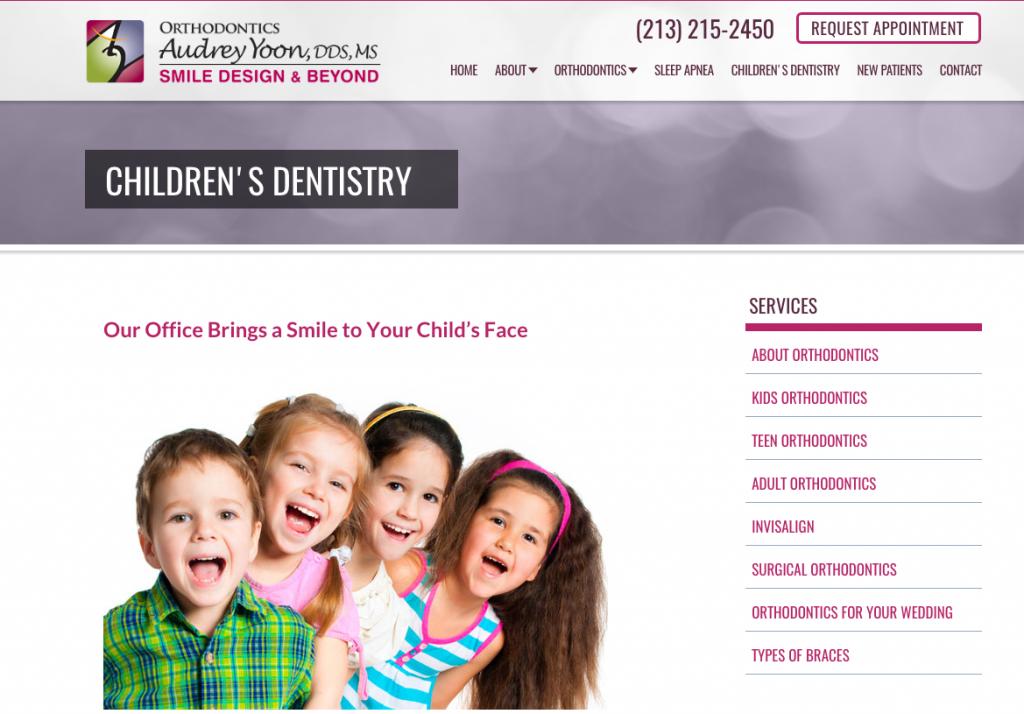Websites for Pediatric Dentists