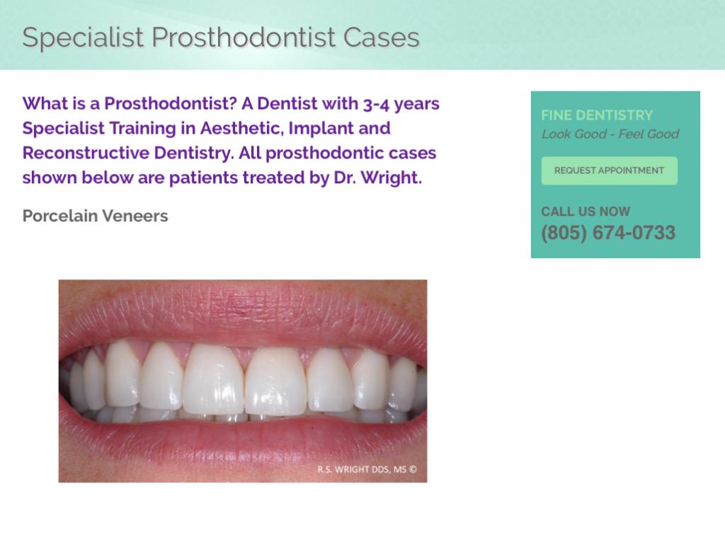 Dental Websites Before & Afters