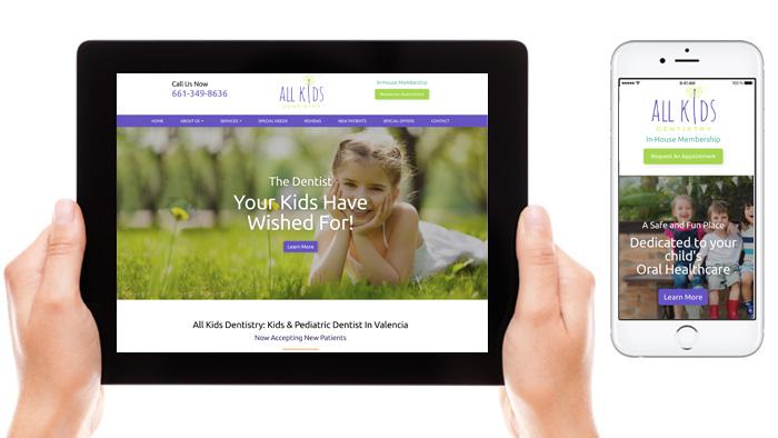 best pediatric dental websites