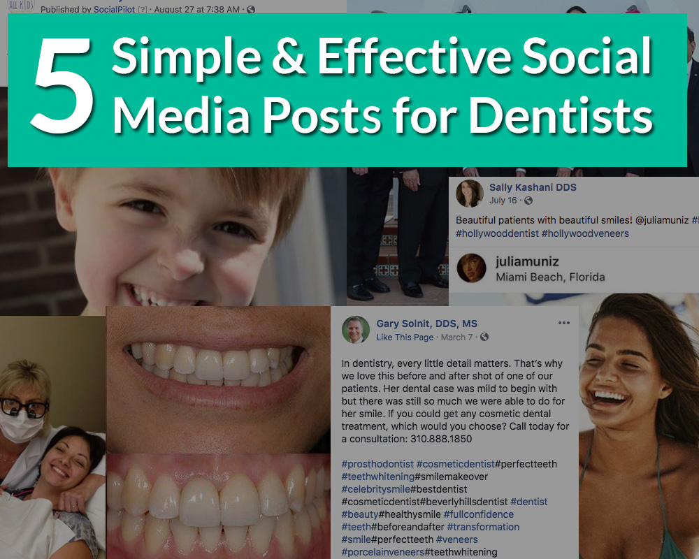 social media idea for dentists