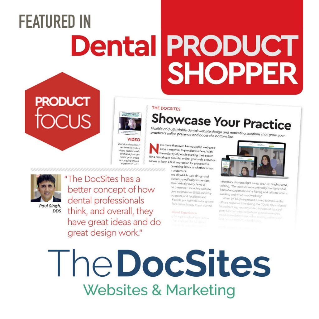 Dental Product Shopper Feature